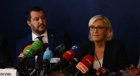 Salvini e la Le Pen si accordano Una Campagna Congiunta in vista delle Elezioni Del Parlamento Europeo
