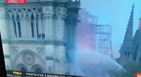 Fiamme a Notre Dame. La Fake News e' Servita