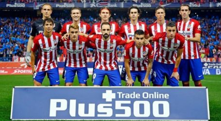 Treade Online Pluss500  Sponsor Club Atlético de Madrid