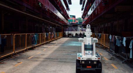 Singapore Impiega Robot per il Controllo degli Operai e Imporre il Distanziamento Sociale