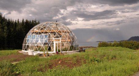 Meravigliosa casa Ecologica degli  Hjertefølger sopra il Circolo Polare Artico