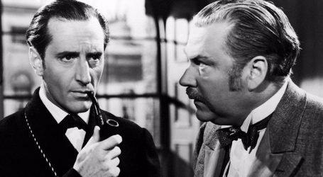 Smiley Sherlock Holmes e il dottor Watson