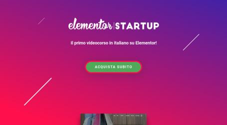 Elementor: Il Primo Videocorso in Italiano