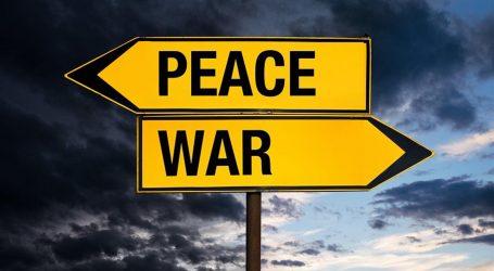 Guerra o Pace questo è il dilemma