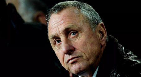 Johan Cruyff al Congresso Internazionale di La Coruña